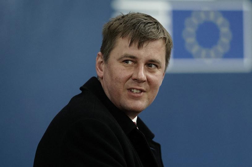 Tomáš Petříček, minister spraw zagranicznych Czech /KENZO TRIBOUILLARD /AFP