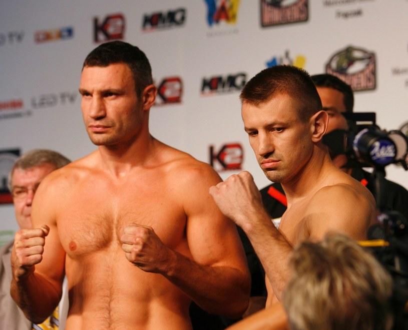 Tomasz Adamek celuje w drugą walkę o mistrzostwo świata wagi ciężkiej /AFP