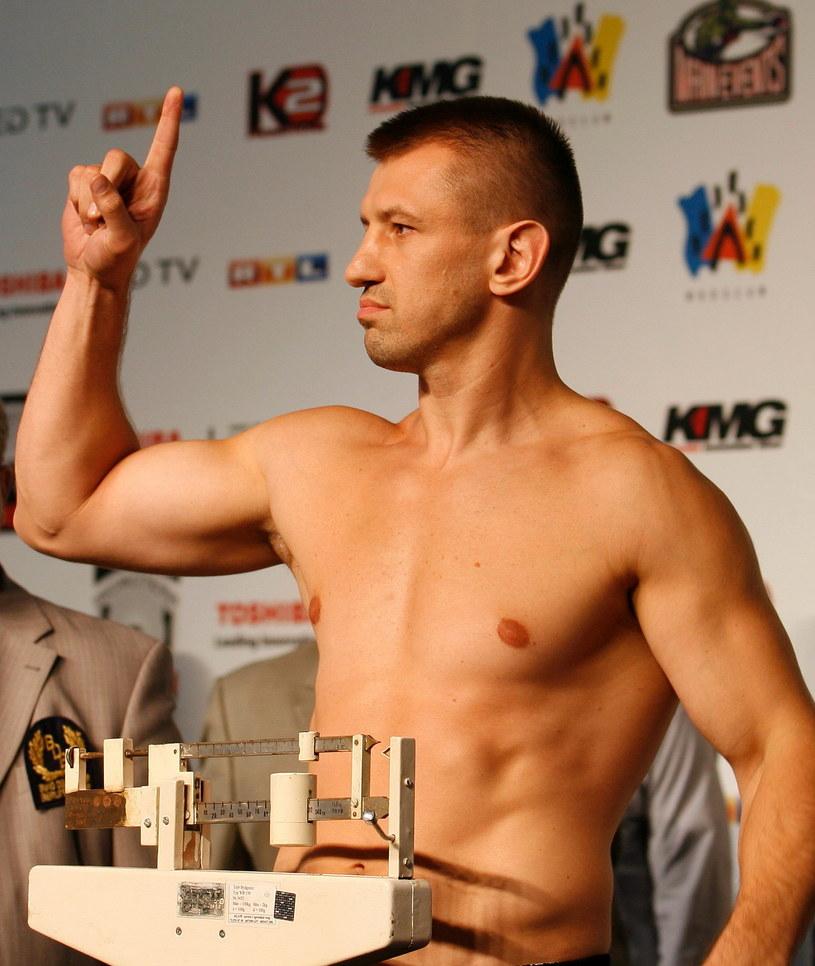 Tomasz Adamek - czwarty w rankingu wagi ciężkiej federacji IBF /AFP