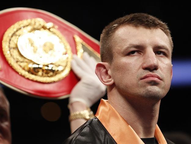Tomasz Adamek nie pozwoli, by ktoś go obrażał. /AFP