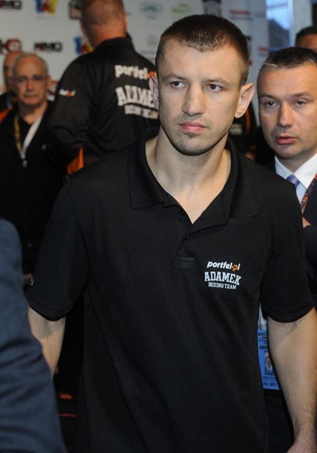 Tomasz Adamek spotkał się z Trojanowską w Linden pod Nowym Jorkiem. /Jarosław Antoniak /MWMedia