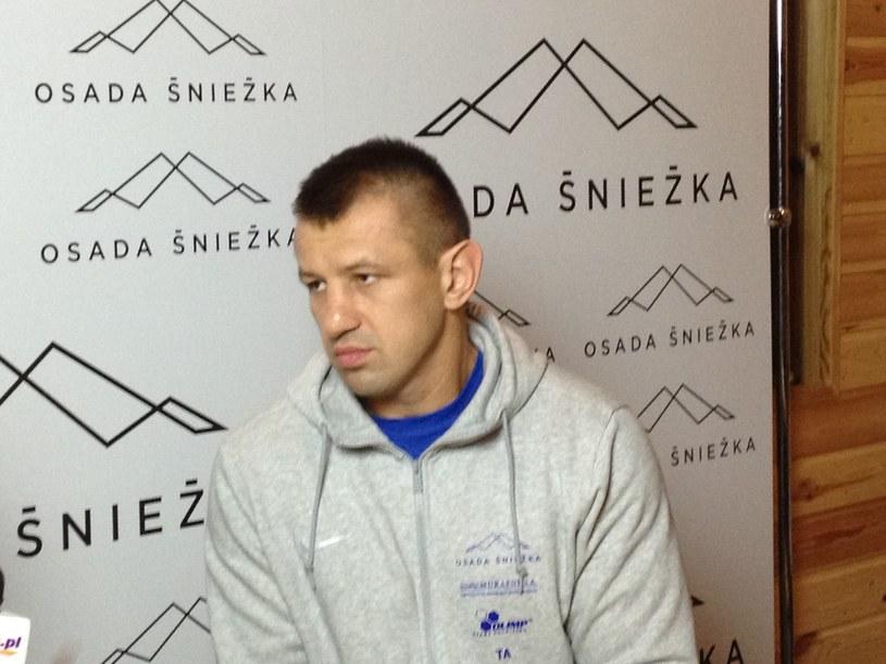 Tomasz Adamek w Łomnicy /łs /INTERIA.PL