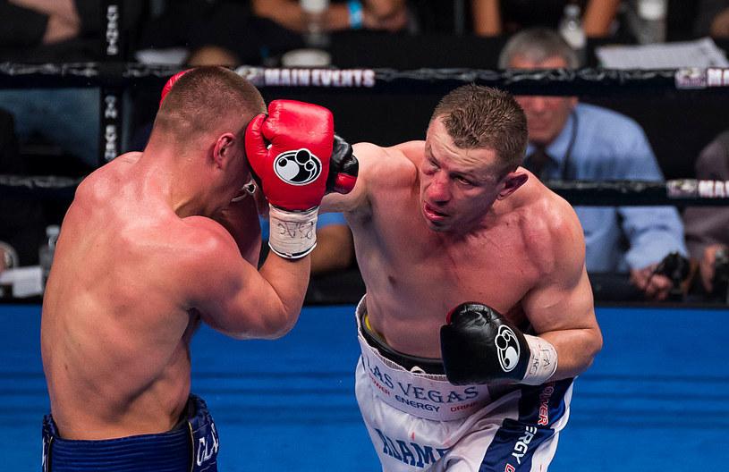 Tomasz Adamek (z prawej) tu podczas walki z Wiaczesławem Głazkowem /Getty Images