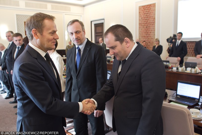 Tomasz Arabski był szefem kancelarii Tuska (fot. z 2012) /Jacek Waszkiewicz /Reporter
