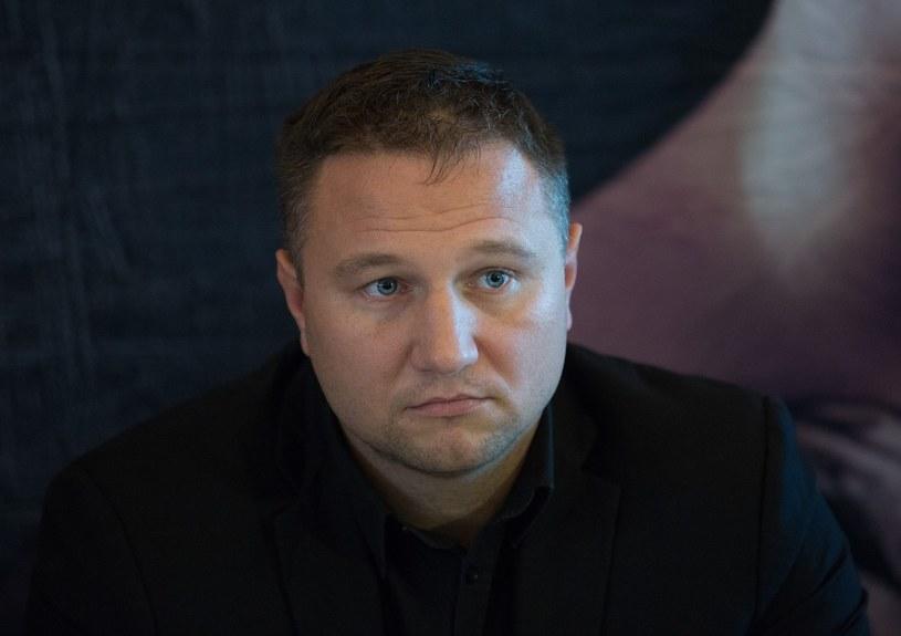 Tomasz Babiloński, właściciel federacji Babilon MMA /Andrzej Iwańczuk /Reporter