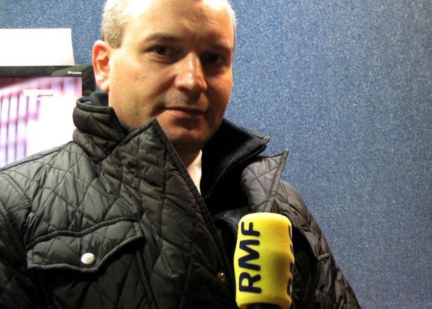 Tomasz Balcerzak, prezes Eurolotu. Fot. Daniel Pączkowski /RMF