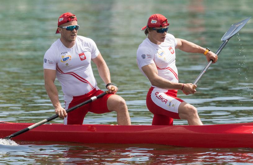 Tomasz Barniak i Wiktor Głazunow /Foto Olimpik/REPORTER /East News
