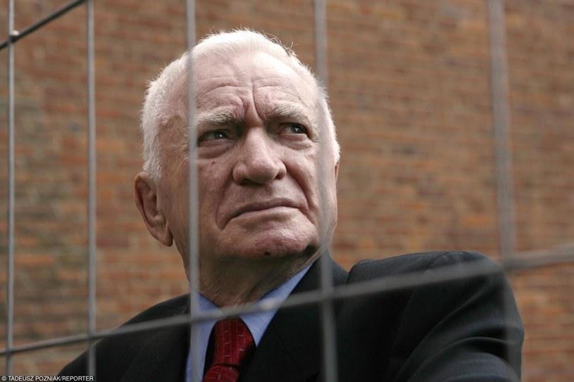 Tomasz Blatt był jednym z ocalałych z zagłady w Sobiborze /Tadeusz Pozniak /Reporter