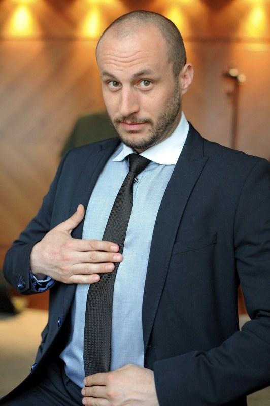 """Tomasz Borkowski serialowym widzom znany jest również z """"Na Wspólnej"""". /Agencja W. Impact"""