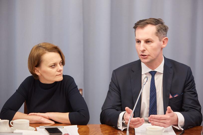 Tomasz Chróstny (P), prezes UOKiK /Hubert Mathis /Reporter