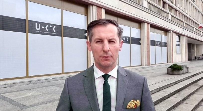 Tomasz Chróstny, prezes UOKiK /Informacja prasowa
