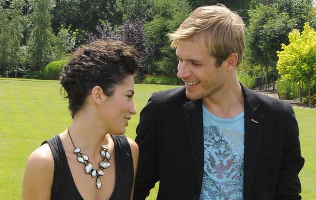 Tomasz Ciachorowski i Julia Pogrebińska, fot. Jarosław Antoniak  /MWMedia