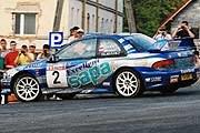 Tomasz Czopik w Subaru Impreza WRC /INTERIA.PL