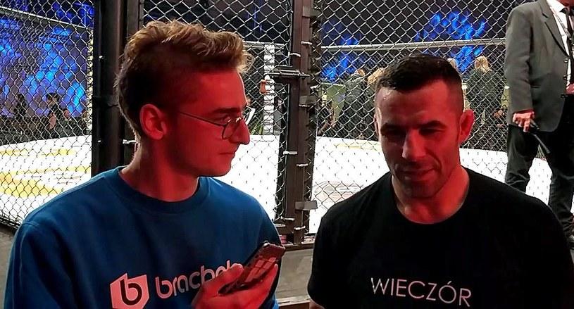 Tomasz Drwal (z prawej); źródło: sporty-walki.org /