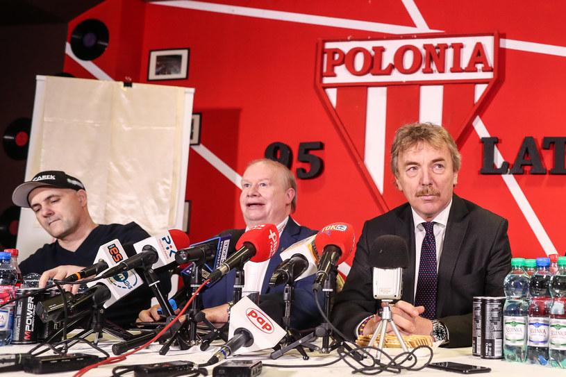 Tomasz Gollob, Jerzy Kanclerz, Zbigniew Boniek /Łukasz Grochala /Newspix