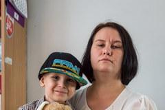 Tomasz Gollob spotkał się z 7-latkiem chorym na nowotwór
