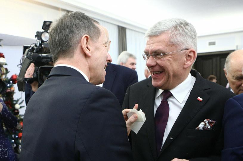 Tomasz Grodzki i Stanisław Karczewski /Tomasz Jastrzębowski /Reporter