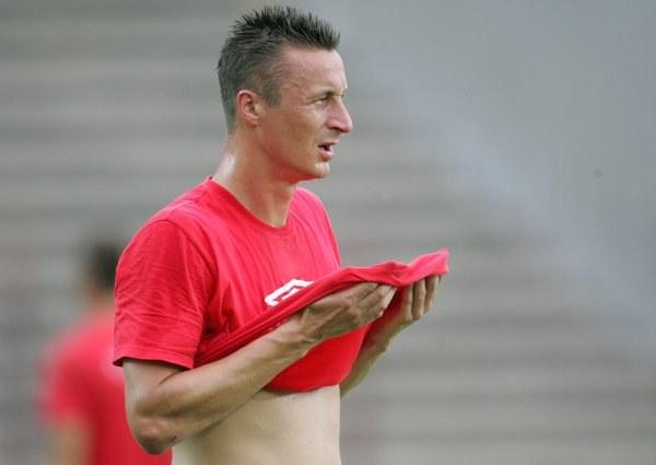 Tomasz Hajto, obrońca ŁKS-u/fot. Łukasz Grochala /Agencja Przegląd Sportowy