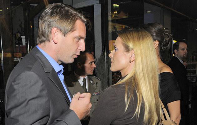 Tomasz, Hanna Lis /fot.Wojciech Olszanka  /East News
