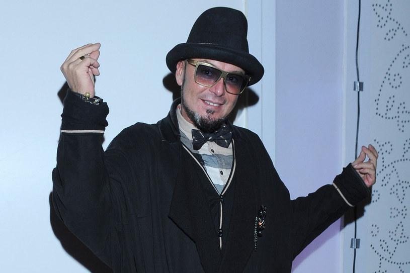 Tomasz Jacyków na pokazie Macieja Zienia  /Andras Szylagyi /MWMedia