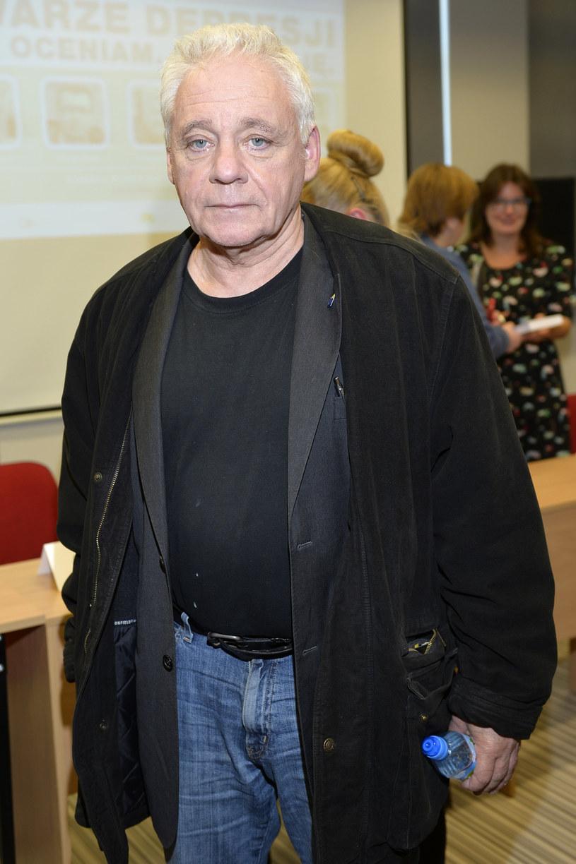 Tomasz Jastrun od lat zmaga się z depresją /Gałązka /AKPA