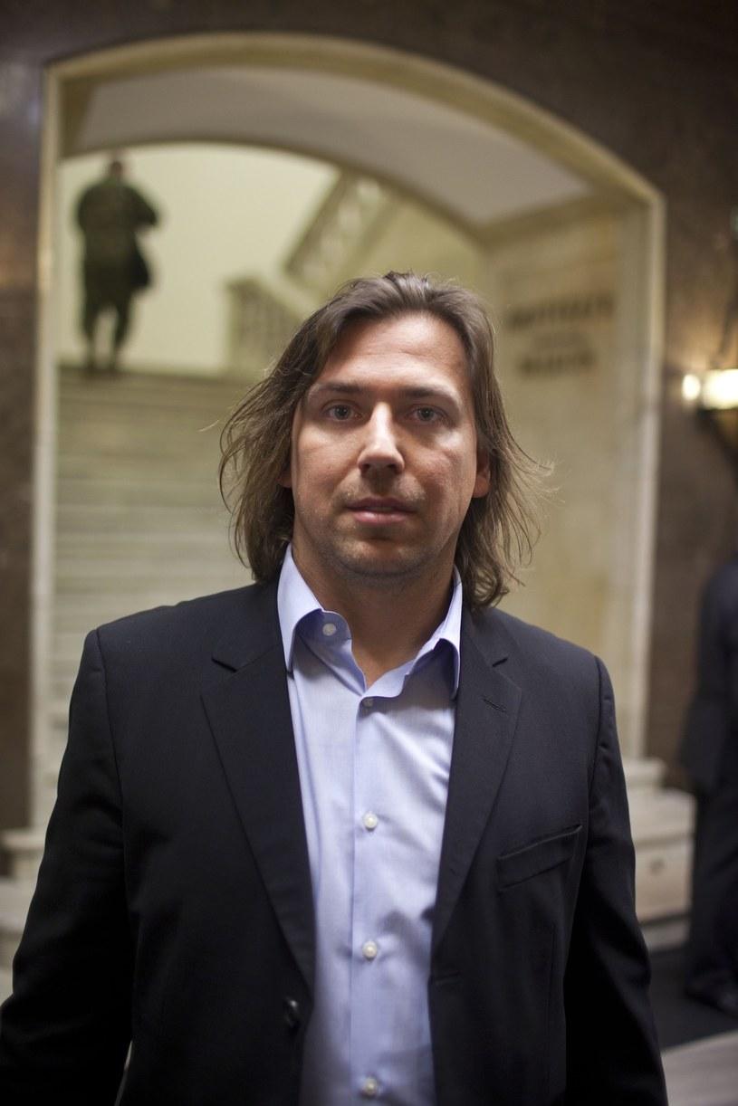 """Tomasz Kaczmarek (""""agent Tomek""""), sierpień 2011 /Andrzej Lange /East News"""