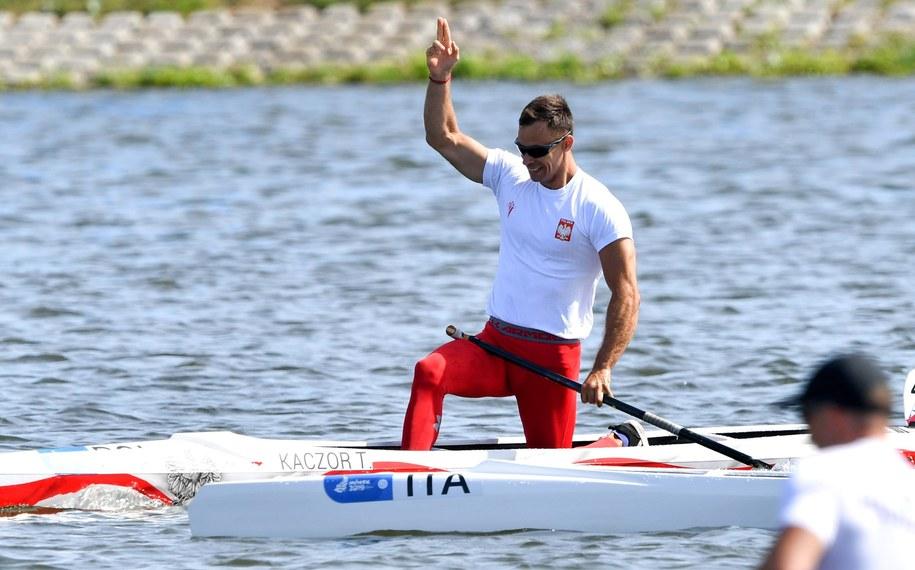 Tomasz Kaczor ze srebrnym medalem Mistrzostw Świata /Piotr Nowak /PAP