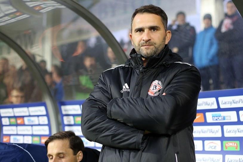 Tomasz Kafarski jest trenerem pierwszoligowej Drutex Bytovii /Fot. Piotr Matusewicz /East News