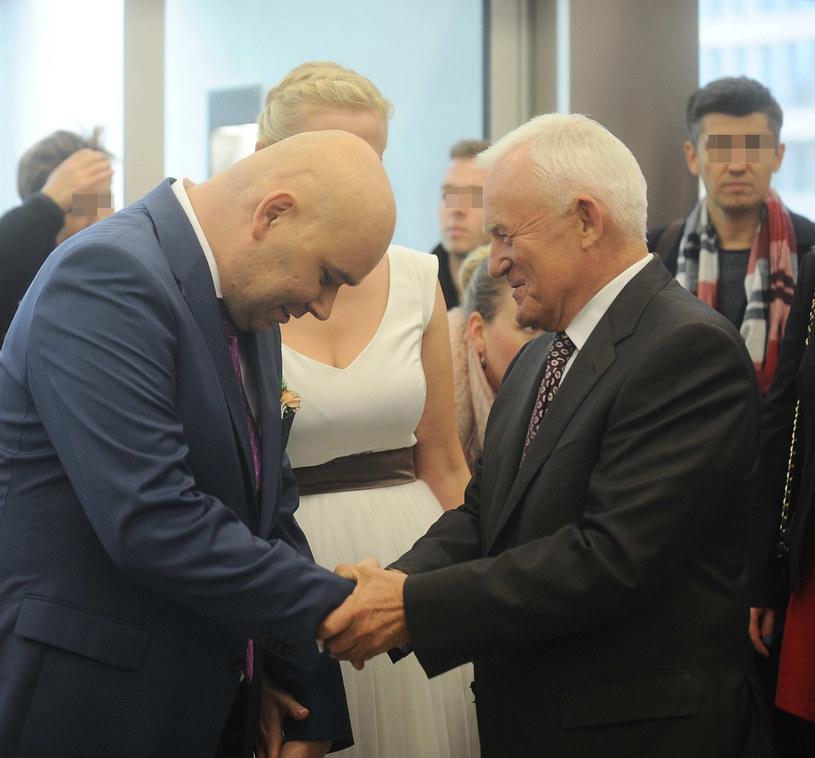Tomasz Kalita i Leszek Miller /- /East News