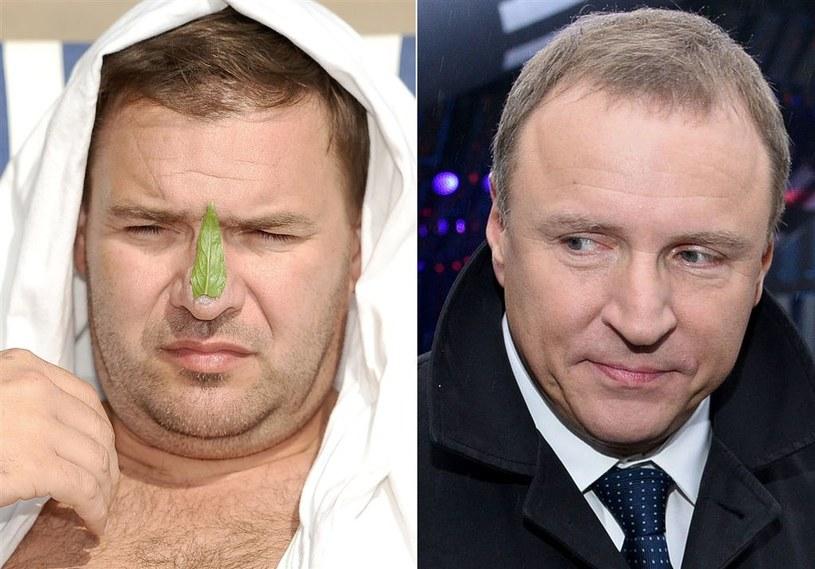 Tomasz Karolak i Jacek Kurski. Panowie nie darzą się przyjaźnią? /Agencja W. Impact