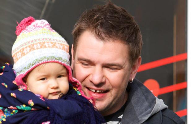 Tomasz Karolak z córką, fot.Miki  /MWMedia