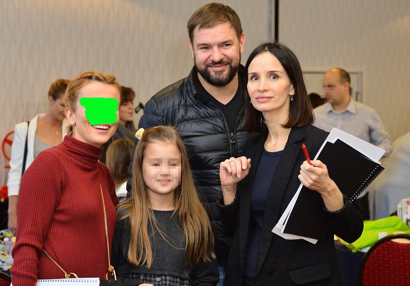 Tomasz Karolak z Violą, córką i koleżanką /Jarosław Antoniak /MWMedia