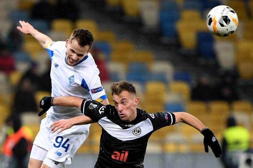 Tomasz Kędziora (numer 94) /AFP