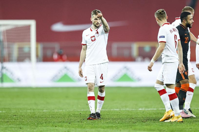 Tomasz Kędziora podczas meczu Polska-Holandia /LUKASZ GROCHALA/CYFRASPORT / NEWSPIX.PL /Newspix