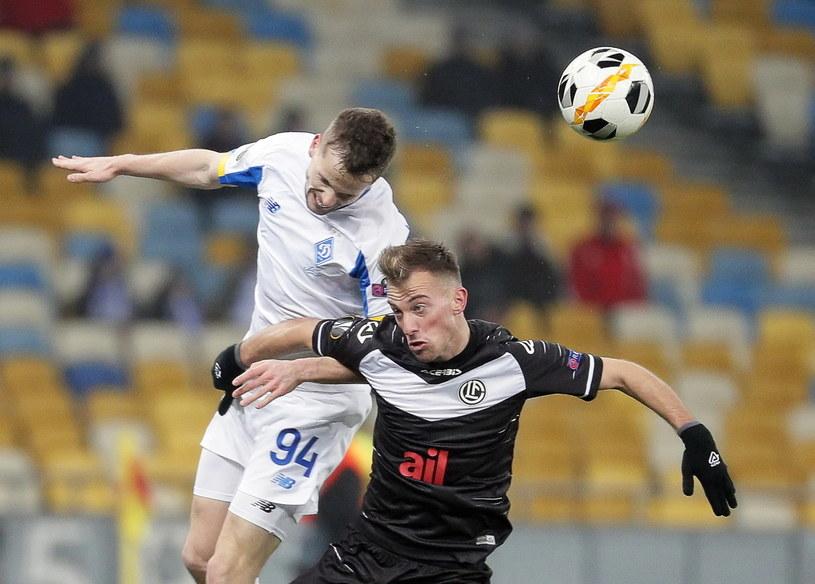 Tomasz Kędziora w meczu z FC Lugano /PAP/EPA