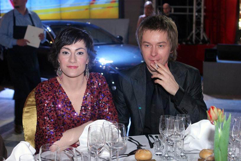 Tomasz Kin, Iwona Kutyna, 2006 rok /Palicki /AKPA