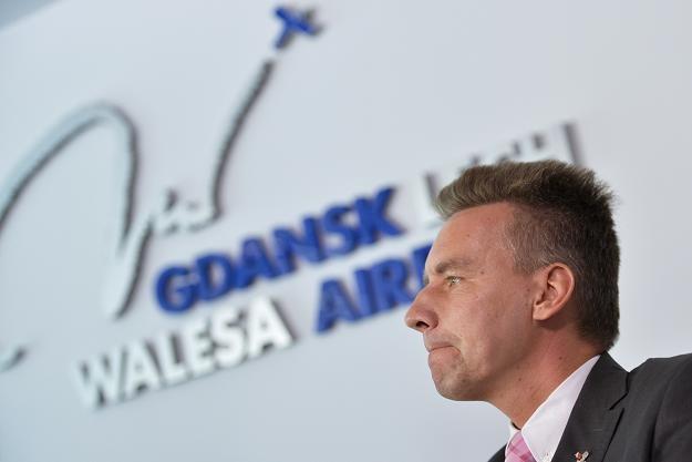 Tomasz Kloskowski, prezes zarządu Portu Lotniczego Gdańsk im. Lecha Wałęsy /PAP