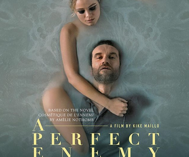 "Tomasz Kot na plakacie filmu ""A Perfect Enemy"""