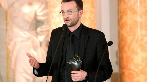 Tomasz Kot z Wiktorem - fot. Leszek Szymański /PAP