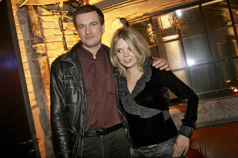 Tomasz Kot z żoną, 2007 rok /Ida Kurkowska /AKPA