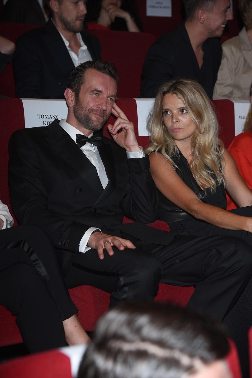 Tomasz Kot z żoną /Tricolors /East News