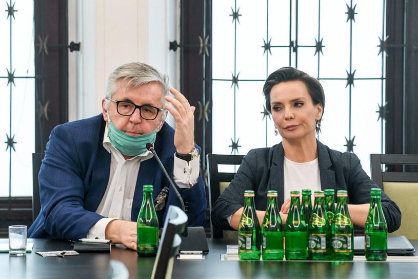 Tomasz Kowalczewski i  Agnieszka Kamińska /Jacek Dominski/ /Reporter