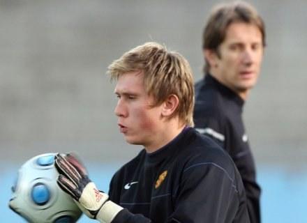 Tomasz Kuszczak może dziś być pierwszoplanową postacią Man Utd. Van der Sar odpocznie od piłki /Getty Images/Flash Press Media