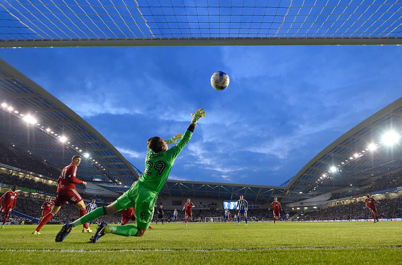 Tomasz Kuszczak w bramce /Mike Hewitt /Getty Images