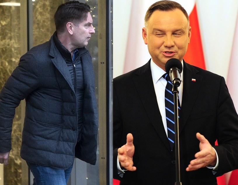 Tomasz Lis i Andrzej Duda /MWMedia /MWMedia