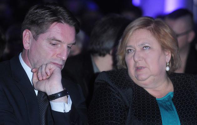 Tomasz Lis i Anna Komorowska /Marek Ulatowski /MWMedia