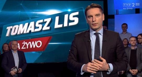 Tomasz Lis w poniedziałek pożegnał się z widzami /TVP Info