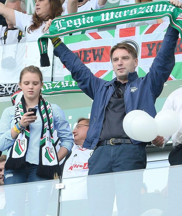 Tomasz Lis z córką /- /East News
