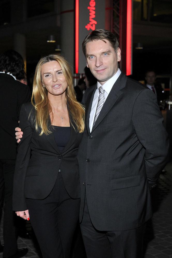 Tomasz Lis z żoną Hanią /AKPA
