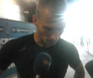 Tomasz Loska po meczu Górnik - Lechia (0-2). Wideo